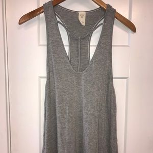 Tops - Tank top tunic with neck detailing NEVER WORN